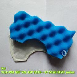 1 Набор роботов аксессуары для пылесоса подходит для samsung VCA-VM HEPA фильтр 45 P VM 45 P SC43-47 SC43 SC47 серии