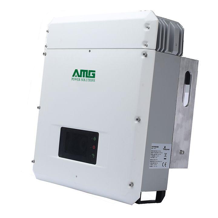 10KW 15KW 20KW Grid Tie Solar Power Inverter with Dual MPPT Waterproof IP65 Wifi Default Conversion