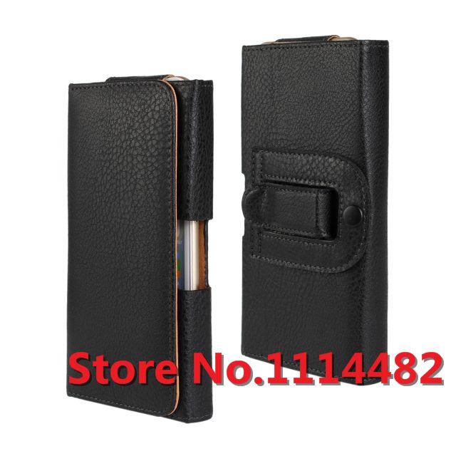 Clip ceinture Couverture Pour Sony Xperia Z1 Z2 Z3 Z3 Compact Z4 En Cuir Pouch Belt Clip Case Étui Pour Sony Z1 Z2 Z3 Z3 Compact Z4