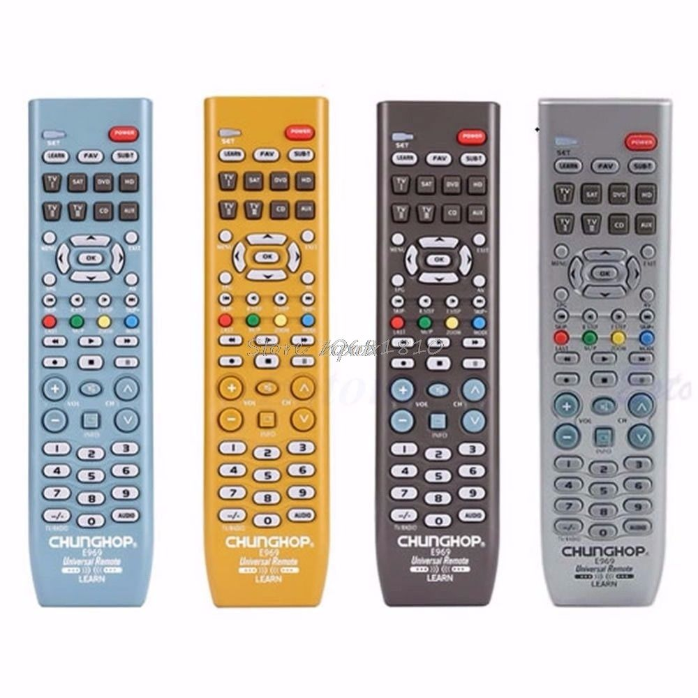 New 8in1 Smart Universal Remote Control Controller For TV SAT DVD CD AUX VCR New Z09 Drop ship