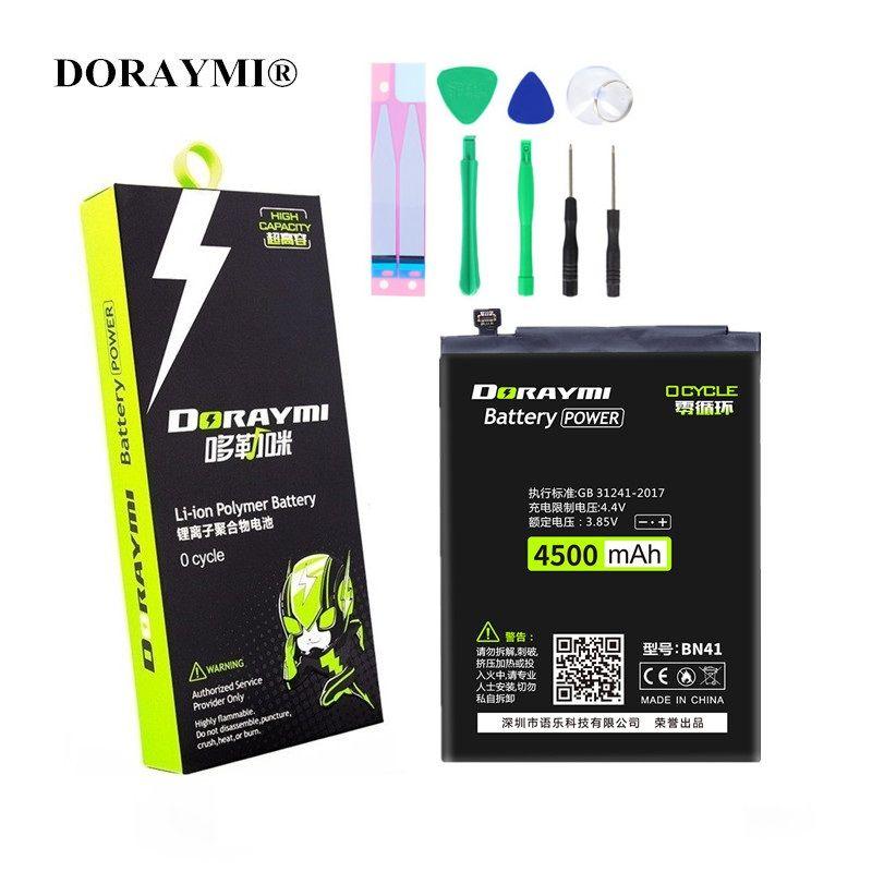 Batterie de téléphone portable DORAYMI pour Xiaomi Redmi 4 5 Note 4X5 BN41 BN42 BN43 BN35 BN45 batterie de remplacement de Batteries au Lithium polymère