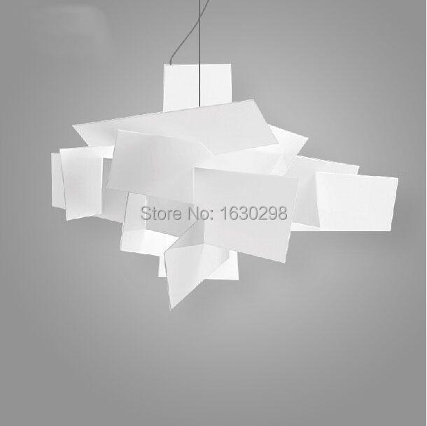 Moderne Big Bang Suspension Pendelleuchten Stapeln Acryl Lampen Wohnkultur D65CM/91 CM Leuchte E27 Beleuchtung für Bar