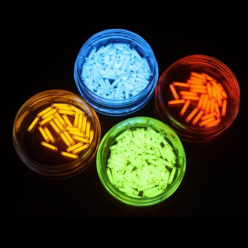 EDC 1 pièces Tritium Tube à gaz 1.5*6mm auto-lumineux 15 ans de produits High-tech EDC sélection multicolore lampes de secours