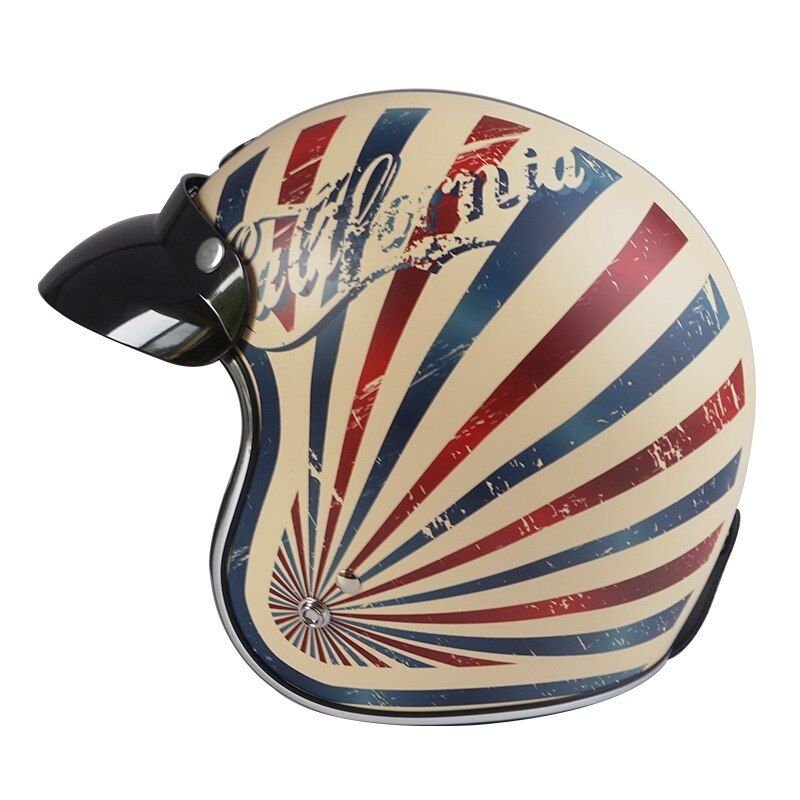 New TORC V541 vintage motocycle helmet harley 3/4 open face retro racing motorbike helmet cruise scooter Vespa DOT moto helmets