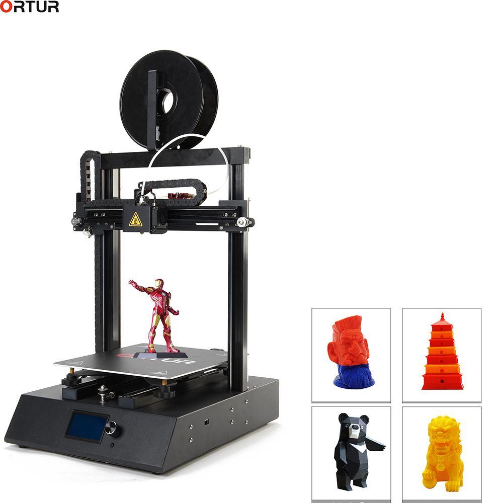 260*310*305 Ortur FDM Desktop 3D Druck/Große format 3D Drucker/Hohe Ende Genauigkeit/ hohe Geschwindigkeit Fabrik Direkt Verkauf und Supprt