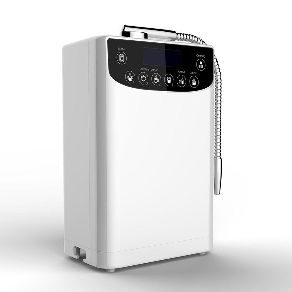 LED Wasser Ionisator Reiniger Maschine PH4.5-10 Alkalische Säure wasser einstellung Hight Qualität Wasserstoff wasser