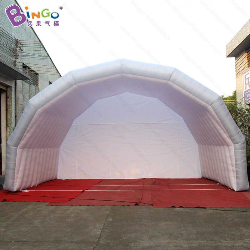 Tent type inflatable stage cover tent price 7*5*4m inflatable car garage air dome tent for sale