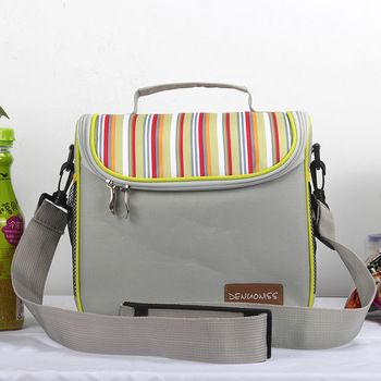 Oxford almuerzo bolso más fresco almuerzo Bolsas alimentos picnic pequeño Bolsas contenedor de almacenamiento bolsas termicas para niños