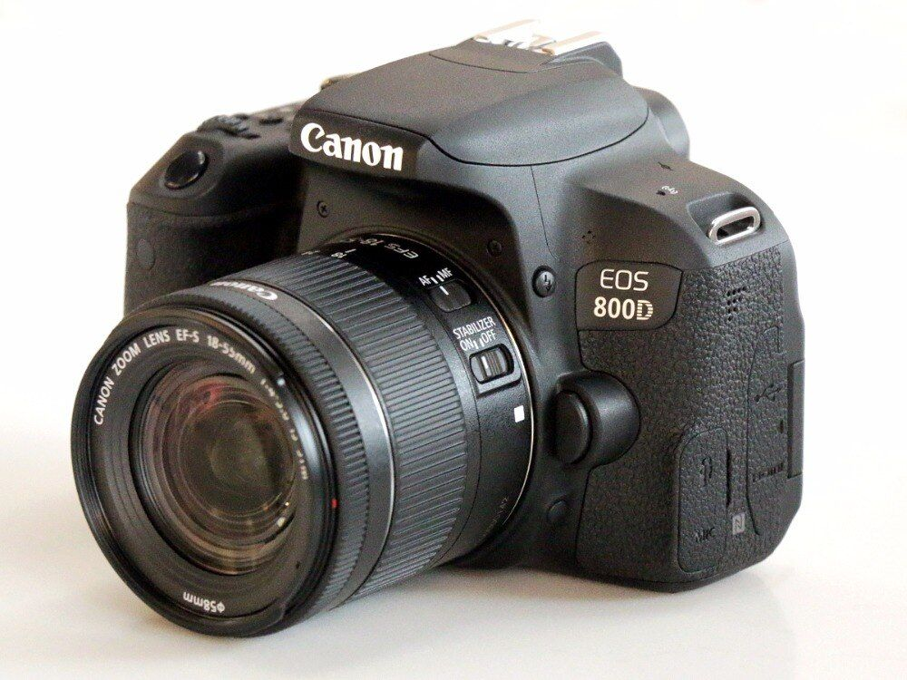 Canon 800D T7i DSLR Camera Body & EFS 18-55mm IS STM Lens