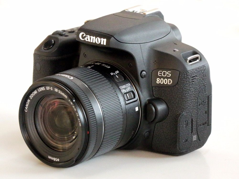 Canon 800D T7i DSLR Kamera Körper & EFS 18-55mm IS Stm-objektiv