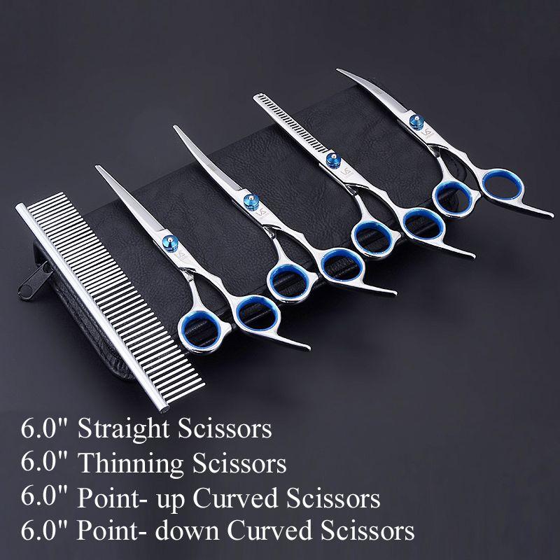 Professionnel Cisailles Chien Toilettage Pour Animaux Ciseaux Outil De Polissage Animal Coupe de Cheveux Fournisseurs Instruments