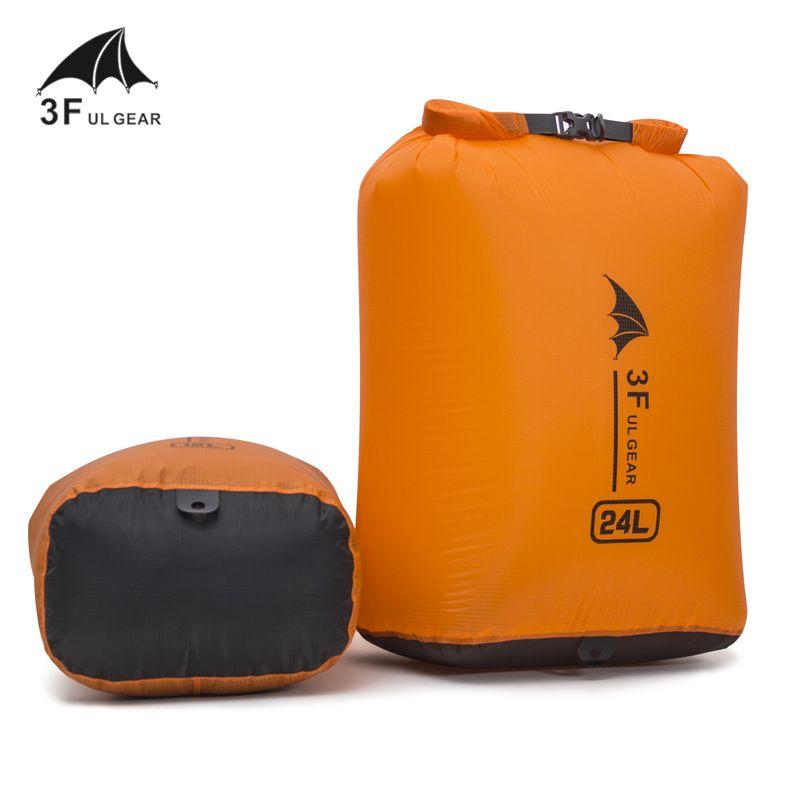 Sac à dérive sac étanche à sec pour canoë Kayak Rafting Sports sacs de rangement flottants Kits de voyage pliants 36L 24L 12L 6L