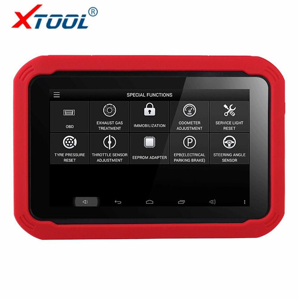 100% Original Auto Schlüssel Programmierer XTOOL X100 PAD Professionelle Auto Diagnose werkzeug mit Spezielle Funktion Entfernungsmesser-korrektur Werkzeug