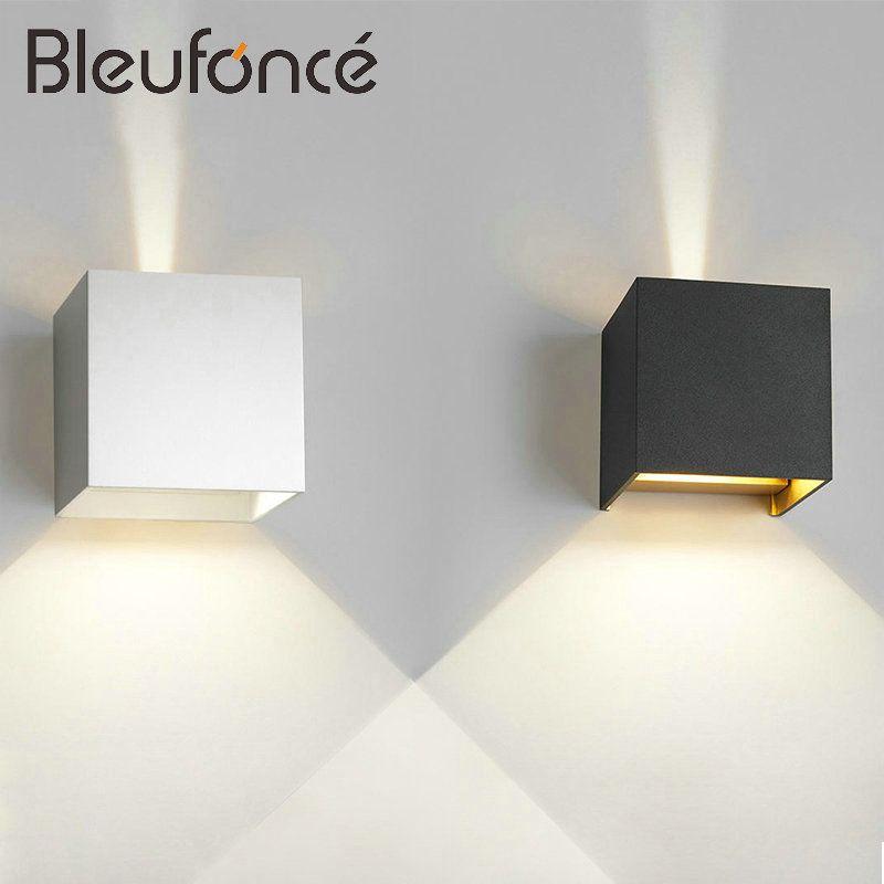 Outdoor Waterproof IP65 Wall Lamp Modern LED Wall Light Indoor <font><b>Sconce</b></font> Decorative lighting Porch Garden Lights Wall Lamps BL30
