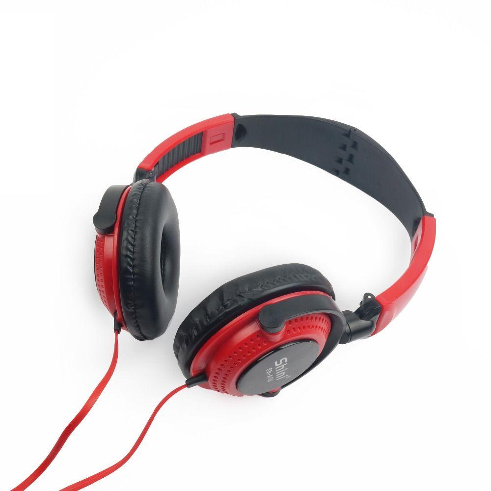 Auriculares estéreo Shini A18 de 3,5 mm con micrófono para Xiaomi redmi 3 y iPhone 5s 6 6s 7, auriculares
