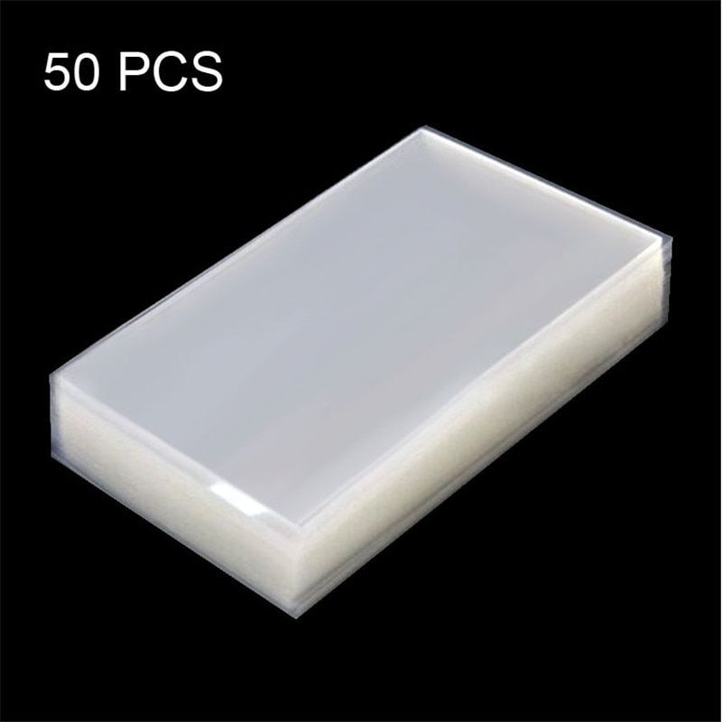 50 stück Original OCA Für Samsung Galaxy Mega 6,3/i9200 LCD Screen Display Optische Klare Klebstoff Kleber Aufkleber