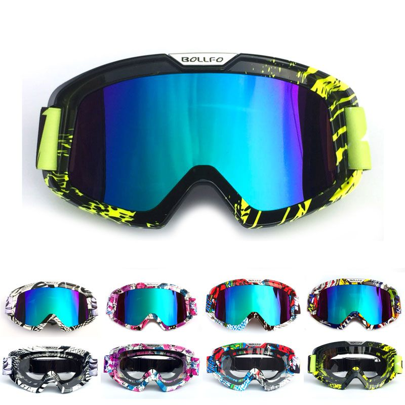 New Motorcycle Glasses Skiing Skating Motocross Racing Snowboarding Eyewear Protective Windproof Helmet Goggles
