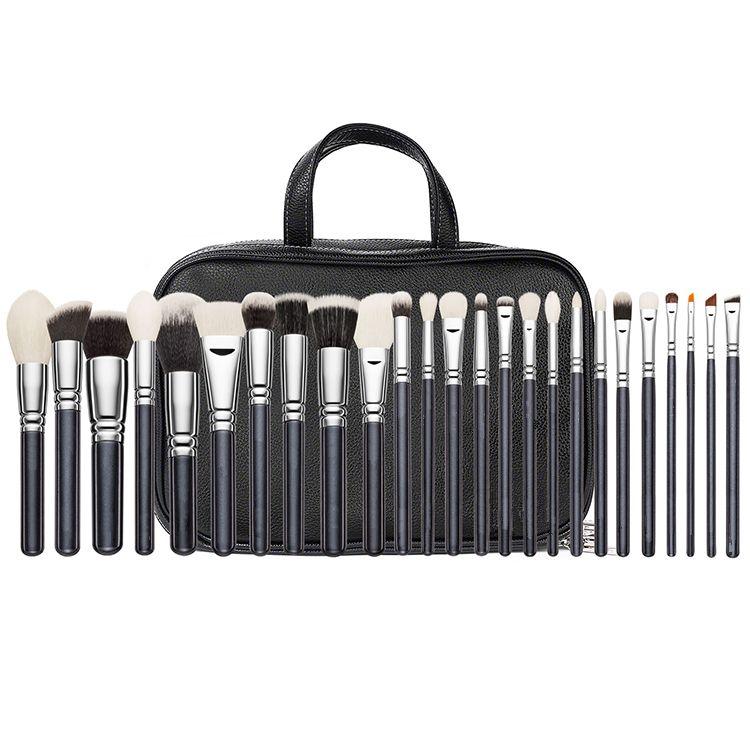 25 sticks make-up pinsel lidschatten pinsel tasche professionelle make-up künstler make-up pinsel werkzeug set