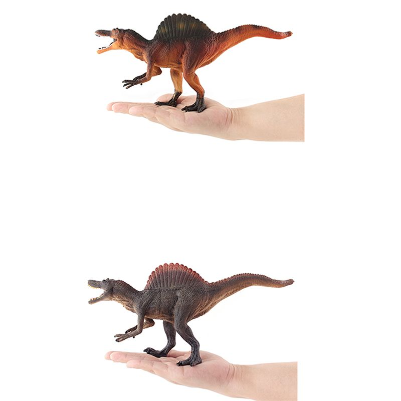 28CM Spinosaurus Dinosaur Toys Action Figure Animal Model Collection Learning Educational Toys Children Gifts Yellow and Grey