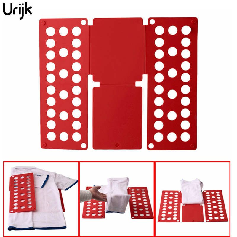 Urijk Folding Board Child Adult Clothes Folder Closet Organizer Clothing Folders Boards Clothes Organizer Laundry Home Storage
