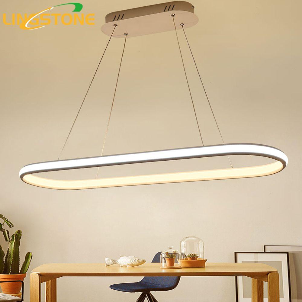 Pendant Lamp Led Light Hanglamp Suspension Luminaire Kitchen Lighting Fixture Lustre Hanging Ceiling Restaurant Living Room