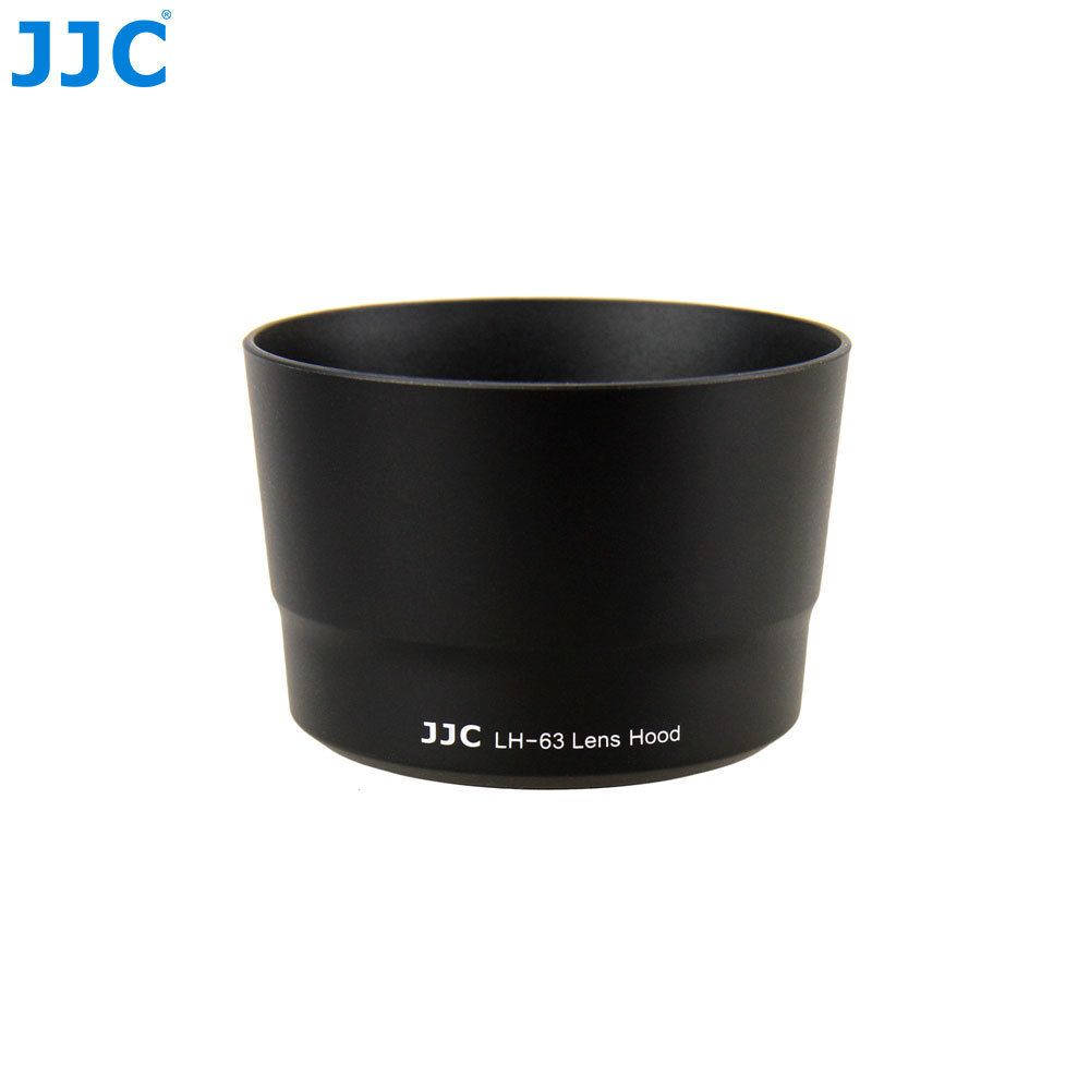 JJC LH-63 Bayonet Camera Lens Hood for Canon EF-S 55-250mm f/4-5.6 IS STM Lens replaces ET-63