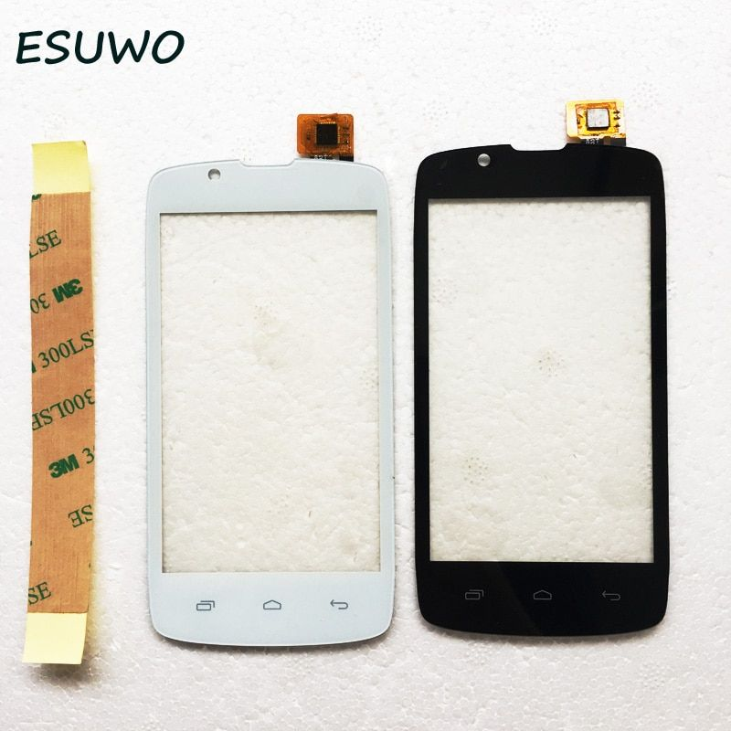 ESUWO Touch Screen For Fly IQ4490 ERA Nano 4 Touch Panel Glass Digitizer Front Lens Sensor Touchscreen 2 Color