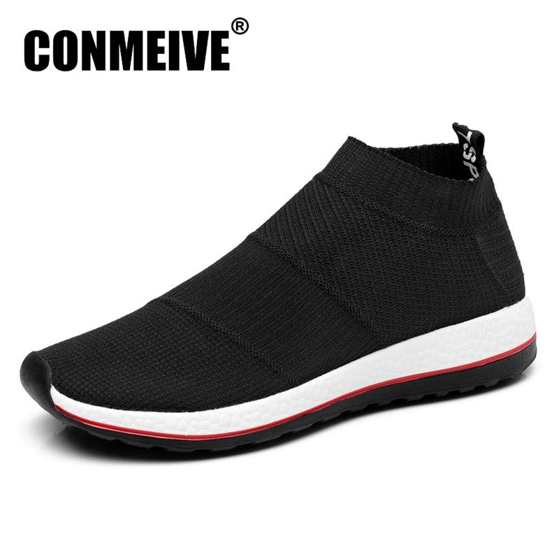 Offre spéciale respirant hommes chaussures maille (air Mesh) Superstar Sneakers lumière appartements hommes mocassins décontracté sans lacet Homme Chaussure Homme