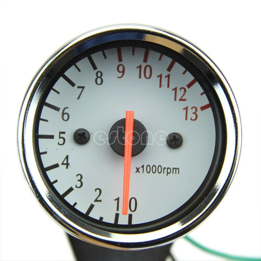 Universal Mechanica 13000RPM Scooter Analog Tachometer Gauge For Motorcycle