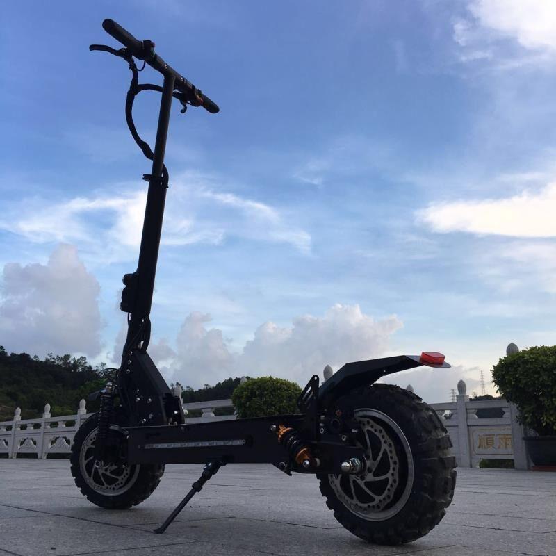 11 inch 60 V doppel ölbremse erwachsene elektroroller doppel stoßdämpfer dual drive hoverboard high-power-elektrische roller