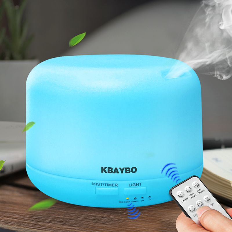 Remote Control 300ML Ultrasonic Air Aroma Humidifier With 7 Color Lights Electric Aromatherapy Essential Oil Aroma Diffuser