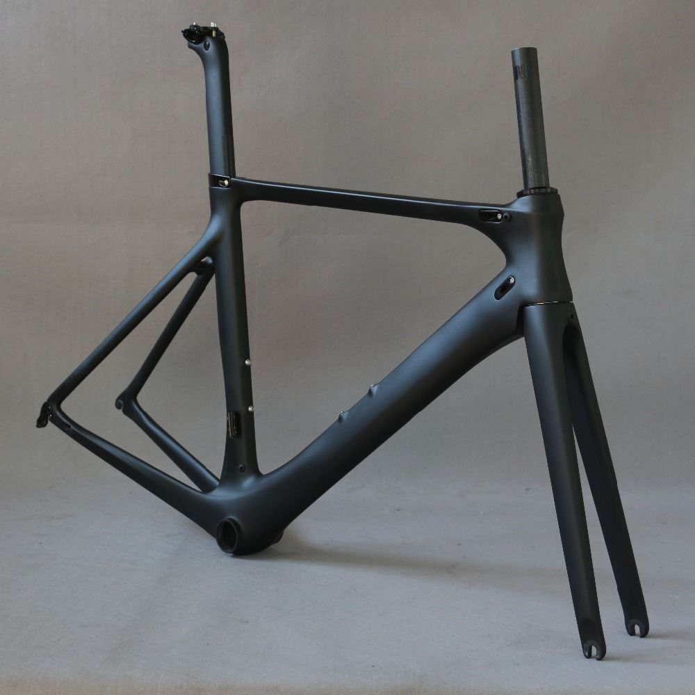 carbon road bike frame road cycling bicycle frameset oem brand frame clearance frame fork seatpost carbon frame