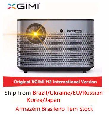 XGIMI H2 1920*1080 dlp Full HD projektor 1350 ANSI lumen 3D projektor Unterstützung 4 K Android wifi Bluetooth beamer