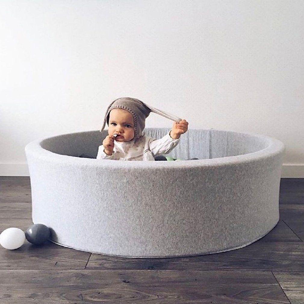 OCDAY Fechten Manege Runde Spielen Pool Infant Ball Pool Pit für Baby Spielen Ozean Ball Lustige Spielplatz Für Kleinkinder Spiel zelt Spielzeug