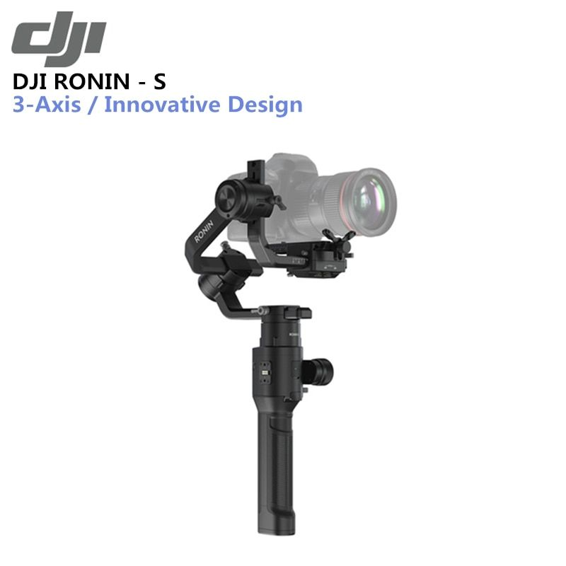 Original DJI Ronin-S Überlegene 3-Achse Stabilisierung 3,6 kg Getestet Nutzlast Kapazität Max Batterie Lebensdauer 12hrs Automatisierten intelligente Funktionen