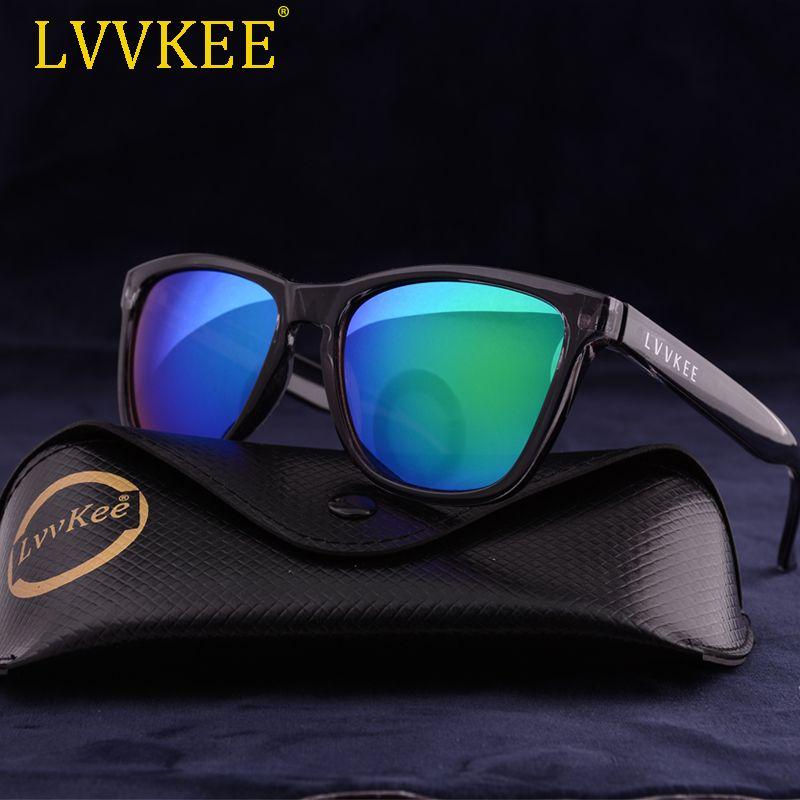 LVVKEE 2018 nouvelles lunettes de soleil de sport d'été femmes/hommes conception de marque lunettes de soleil de plage lunettes extérieures avec Logo et emballage d'origine