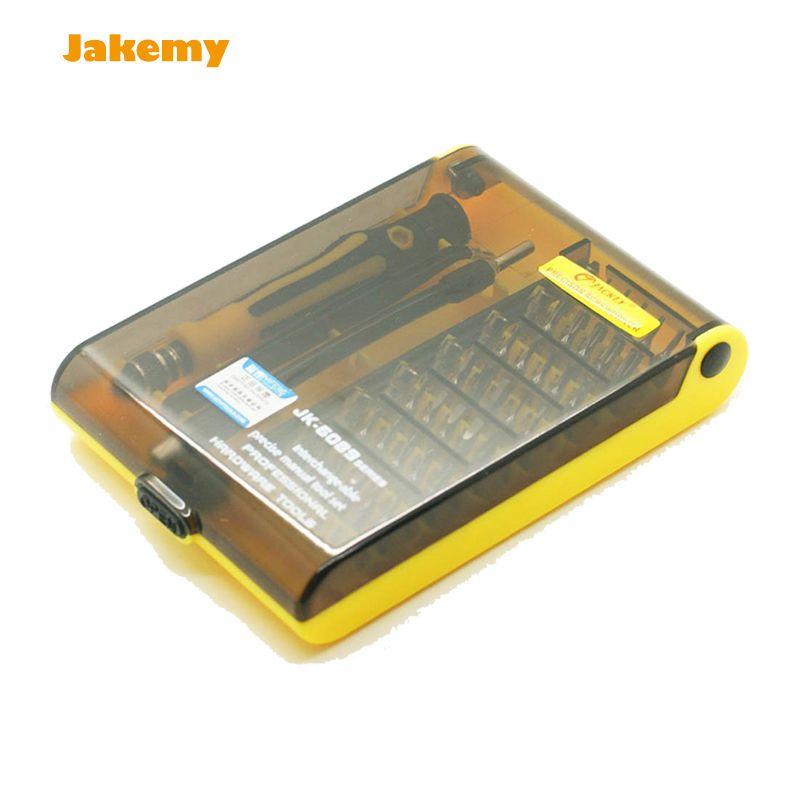 Professional 45 in 1 JK 6089 B Hardware Screw Driver Tool Kit <font><b>Precise</b></font> Screwdriver Set HQ mobile phone repair tool and Notebook