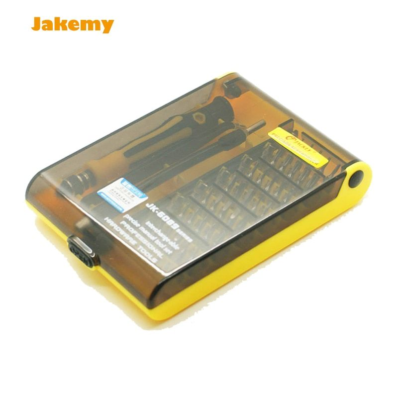 Professional 45 in 1 JK 6089 B Hardware <font><b>Screw</b></font> Driver Tool Kit Precise Screwdriver Set HQ mobile phone repair tool and Notebook