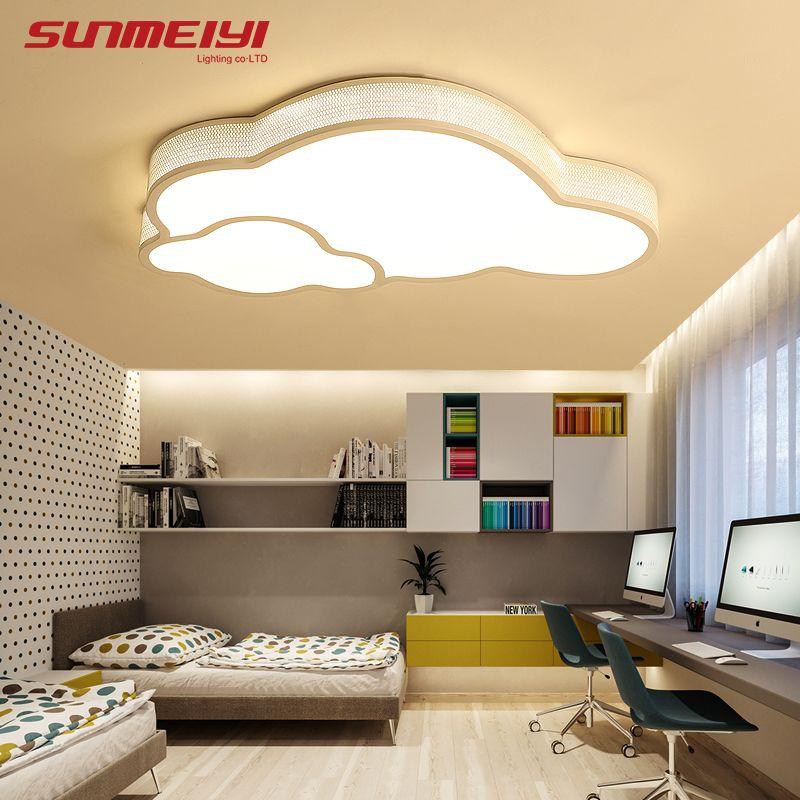 Modern Led Ceiling Lights lampa sufitowa Bedroom Kid room Cloud Ceiling Lamps Home Lighting Living room led armatuur