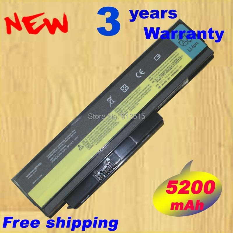 New Battery for Lenovo SERIES 29+ for THINKPAD X220 for THINKPAD X220 4286 5200Mah 6Cell