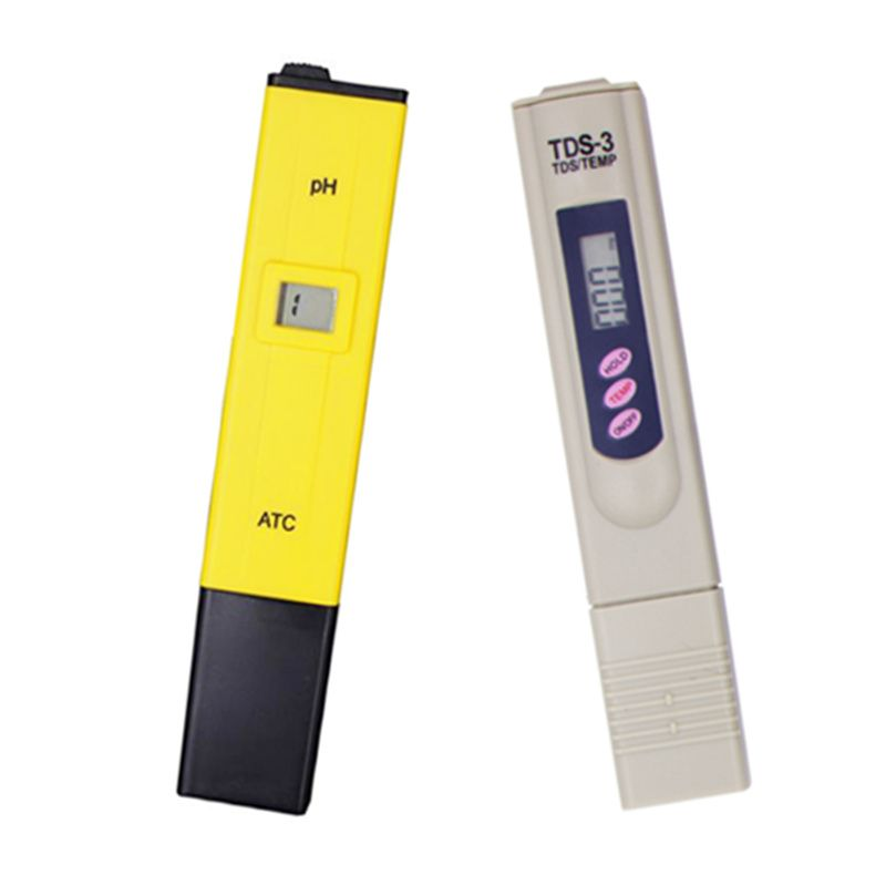 Digital PH Meter and TDS Tester <font><b>Monitor</b></font> Aquarium Pool SPA Meter Water Quality purifiers filter pen ph meter 16% off