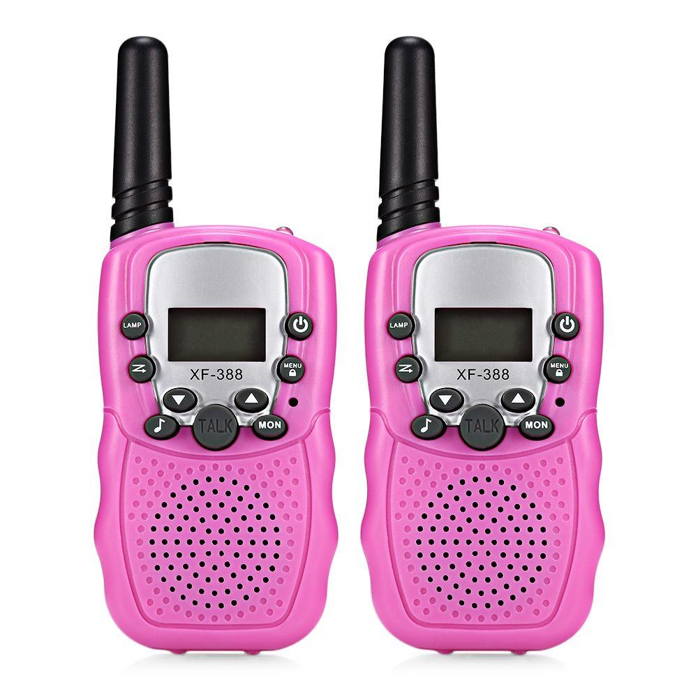2018 Baby Monitor XF - 388 2pcs Children Walkie Talkies 2-Way Radio 3KM Range 8 Channels With Adjustable Volume Levels