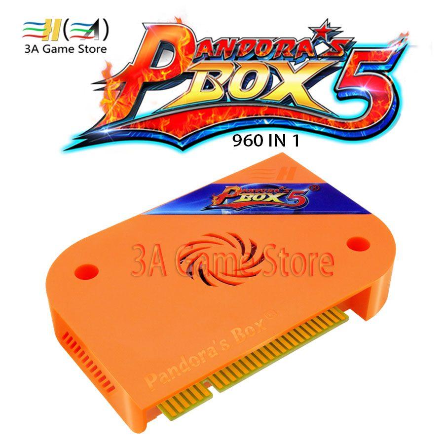 Büchse der Pandora 5 960 in 1 Jamma Arcade Version HDMI/Vga-ausgang HD 720 P Buttons USB Speicher Game Board Für Arcade Maschine