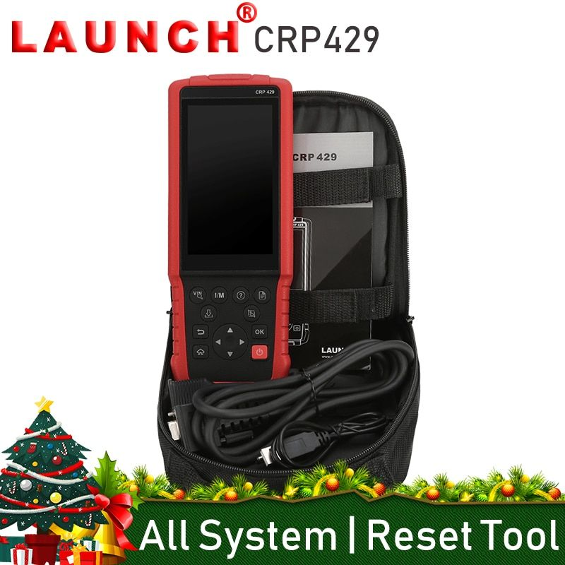 Launch CRP429 All System OBD2 Car Code Reader Scanner Auto Diagnostic Tool Oil Reset EPB BMS SAS DPF Injector Coding IMMO