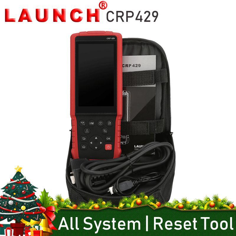 Starten CRP429 Alle System OBD2 Auto Code Reader Scanner Auto Diagnose Werkzeug Öl Reset EPB BMS SAS DPF Injektor Codierung IMMO