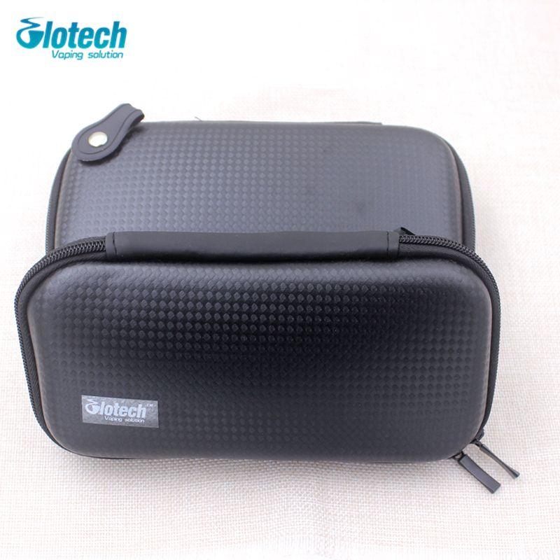 Glotech X6 KTS Zipper Case bags Dual ego x6 no logo e cigarette bag for box mod RDA RBA vaporizer coil jig vape accessory
