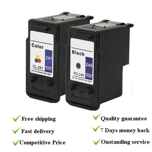 Remanufactured ink cartridge  1 set  suit for canon PG240 cl 241  with dye ink, 100% quality guarantee