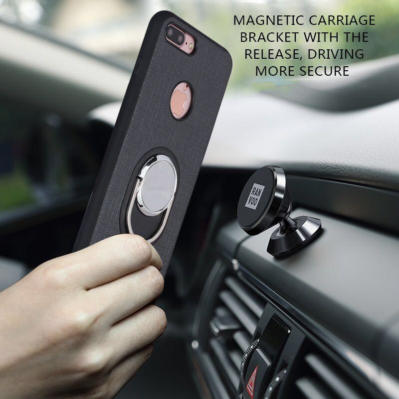 Чехол для Телефона iPhone 7 6 плюс Многофункциональный Защитная крышка для iphone 5S 6 с магнитом автомобильный держатель и телефона чехол