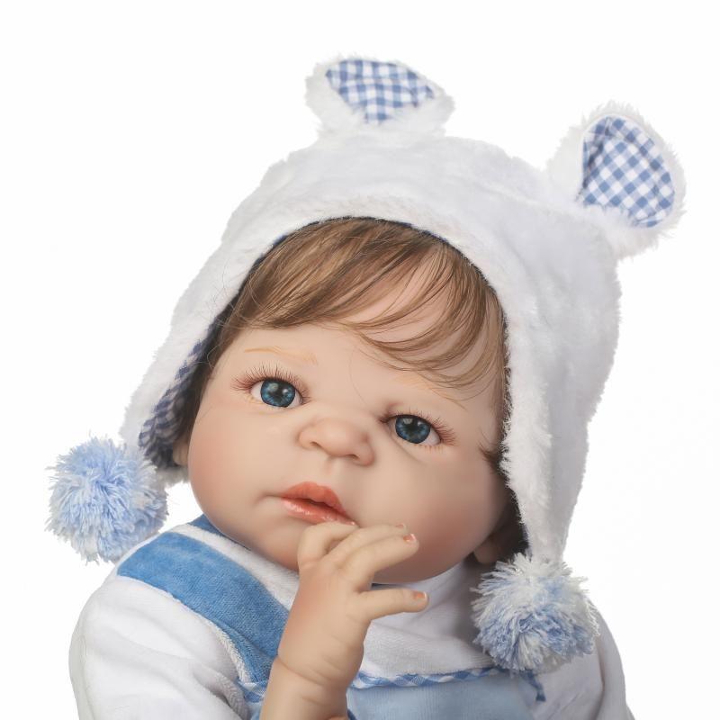NPKCOLLECTION Full Body Silicone Girl Reborn Babies Doll Bath Toy Newborn Princess Baby Doll Bonecas Bebe Reborn Girls Gifts