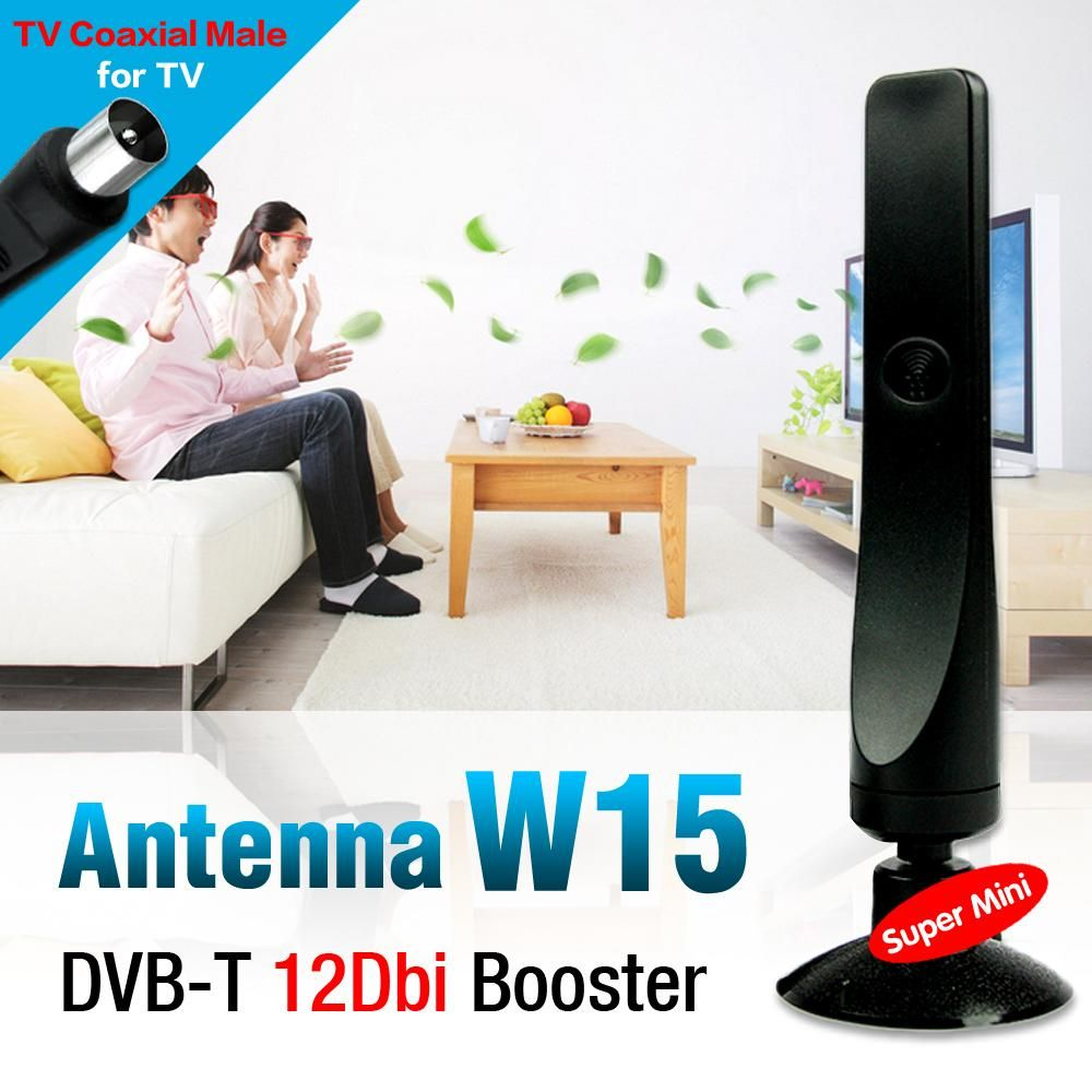 12dBi Aerial TV Antenna For DVB-T TV HDTV Digital Freeview HDTV Antenna Booster antena de tv EL0465